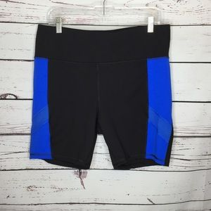 Avia 16/18 color block athletic shorts